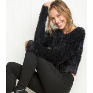 🥀SOLD🥀 Brandy Melville Faux Fur Sweater